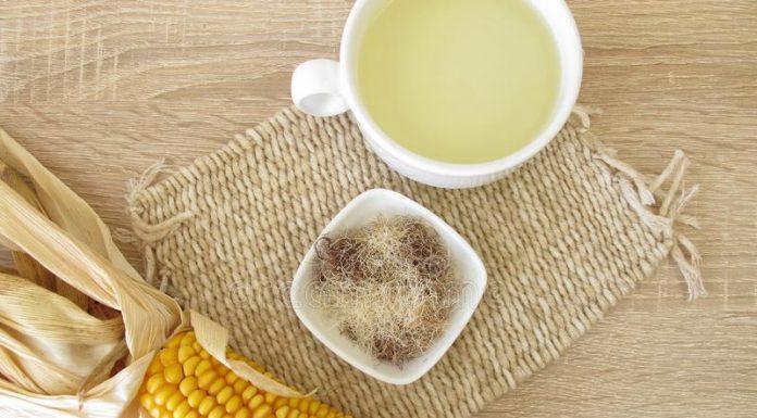 corn silk tea - mısır püskülü çayı